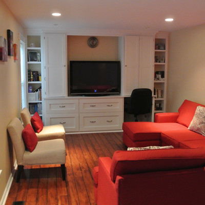 Living Room- Residential Remodeling in Bethesda MD