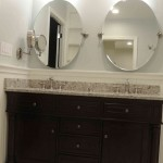 Vanity- Bathroom Remodeling Done by MelNess Contractors in Chevy Chase MD