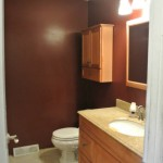 Before Bathroom Remodeling by Melness Contractors in Chevy Chase MD and DC