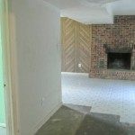 Before Melness Contractors Remove Drywall Installation- Washington DC