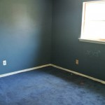 Before Residential Painting and New Carpet Installation- Bethesda MD & DC