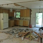 Before Kitchen Remodeling and Drywall Installation in Washington DC