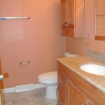 After Bathroom Tile Installation and Residential Painting- Remodeling in Bethesda & Chevy Chase MD