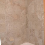 After Tile Installation for Bathroom Remodeling- Chevy Chase MD & DC